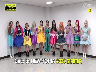 [2020 MAMA] Star Countdown D-16 by LOONA
