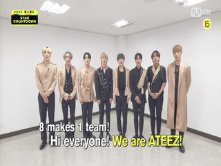 [2020 MAMA] Star Countdown D-15 by ATEEZ