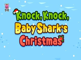 Knock, knock, Baby Shark's Christmas