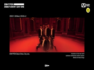 Invitation to ENHYPEN DEBUT SHOW   DAY ONE l 11.30(Mon) 8PM(KST) Mnet