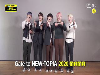 [#2020MAMA] Star Countdown D-8 by TOMORROW X TOGETHER