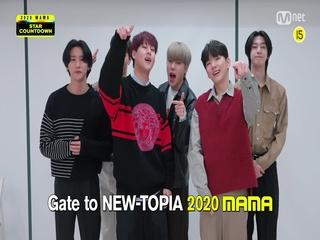 [2020 MAMA] Star Countdown D-6 by MONSTA X