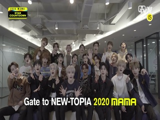 [2020 MAMA] Star Countdown D-5 by NCT