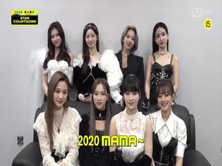 [2020 MAMA] Star Countdown D-2 by TWICE