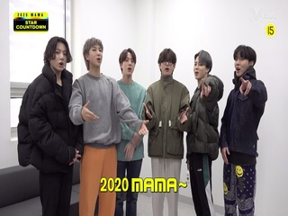[2020 MAMA] Star Countdown D-1 by BTS