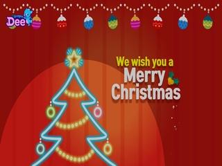 We wish you a merry christmas (AI Ver.)