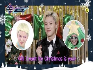 ♥?엠카 크리스마스 스페셜♥? 이번 주 엠카운트다운 라인업은?