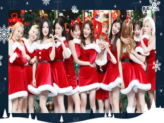 ♡사랑스러운 '이달의 소녀'의 'All I Want for Christmas Is You (원곡 - Mariah Carey)' 무대