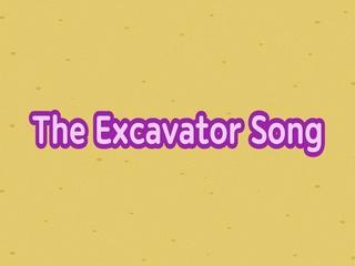 Digging Excavator Song