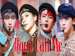 'COMEBACK' 빛나는 '샤이니'의 'Don't Call Me' 무대