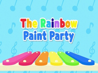 The Rainbow Paint Party