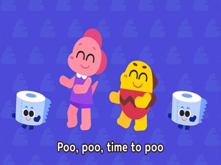 Poo in the Toilet