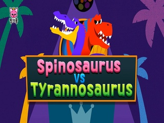 Spinosaurus vs Tyrannosaurus