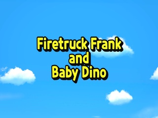Firetruck Frank and Baby Dino