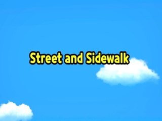 Street and Sidewalk