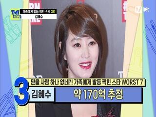 [65회] 어머니의 막대한 채무 때문에 연예계를 은퇴하려 했던 김혜수