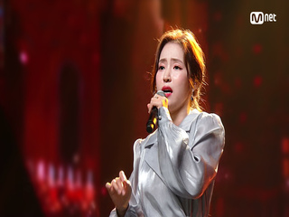 'COMEBACK' 곰탕 보이스 '홍자'의 '눈물의 술잔' 무대