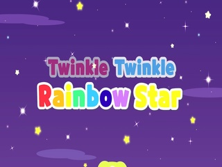 Twinkle Twinkle Rainbow Star