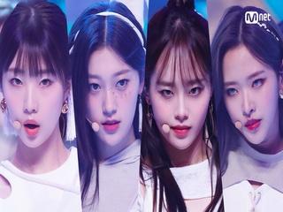 '최초 공개' 12인 완전체 '이달의 소녀'의 'PTT (Paint The Town)' 무대
