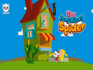 The Itsy Bitsy Spider (거미 (거미가 줄을 타고 올라갑니다))