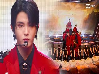 웅장한 'KINGDOM(킹덤)'의 'KARMA' 무대