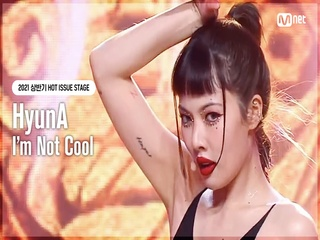 [HOT ISSUE STAGE] 현아(HyunA) - I'm Not Cool
