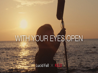 With your eyes open
