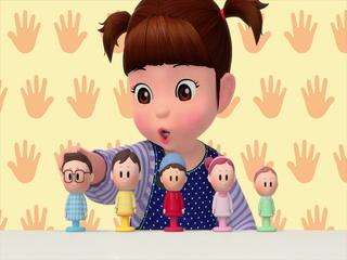 콩순이 손가락가족