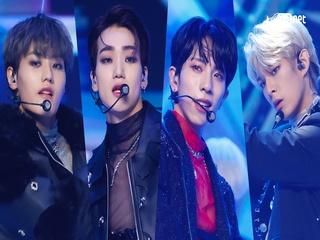 'DEBUT' 新보이그룹 '루미너스'의 'RUN' 무대