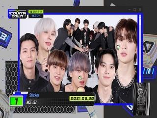9월 마지막 주 1위 'NCT 127'의 'Sticker' 앵콜 무대! (Full ver.)