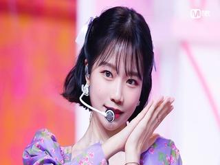 '최초 공개' 유리다움 '조유리'의 'GLASSY' 무대