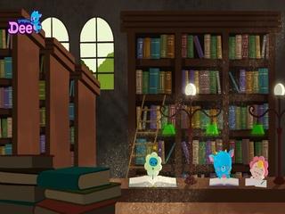 드니의 도서관 자장가