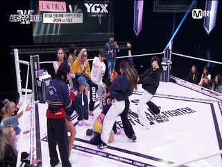 [8회] 잇츠 도발 도발~?! YGX vs 라치카 @탈락 배틀 1라운드 단체전