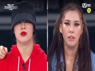 [8회] (크루의 명예를 걸고..) YGX 리정 vs 라치카 가비 @탈락 배틀 3라운드 리더전