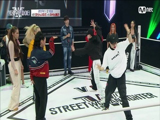 [8회] 이 조합 재밌네~♬ YGX 예리&이삭 vs 라치카 피넛&시미즈 @탈락 배틀 4라운드 2:2 배틀