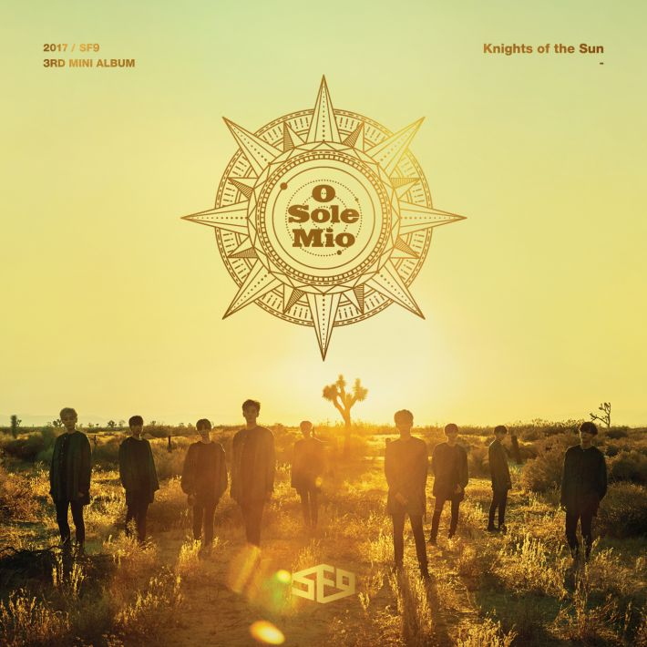 SF9 3RD MINI ALBUM [Knights of the Sun]