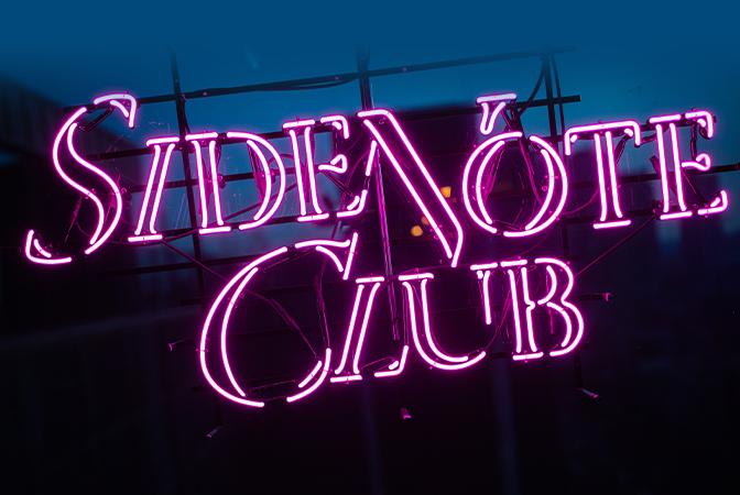 아마도 홍대에서 가장 트렌디한 플레이스, 사이드 노트 클럽