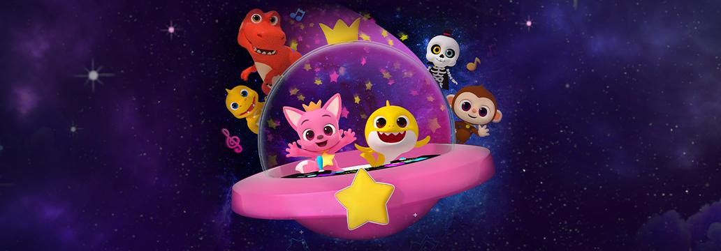 핑크퐁 시네마 콘서트: 우주대탐험<br>영화 OST 발매! 개봉 임박!