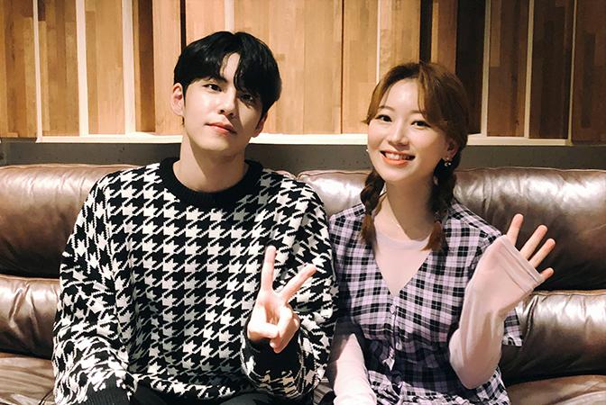 안녕하신가영 X 원필(DAY6), 꿀라보레이션!
