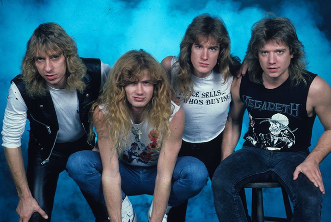 우리가 꼭 알아야 할 헤비메탈의 순간들 메가데스(Megadeth)'