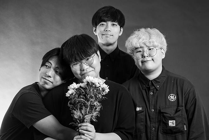 반짝이고 시끄러운 밴드 '소음발광'의 첫 정규