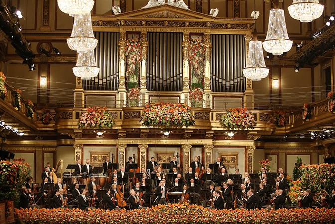 빈 필하모닉의 신년음악회는 멈추지 않는다.