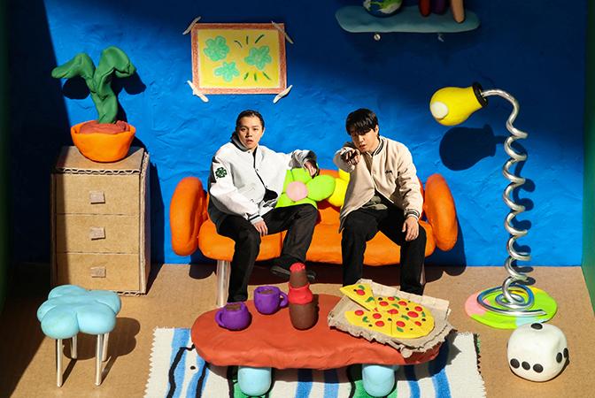 릴보이 & 원슈타인, 더블 싱글 [FRIENDS] 뮤직비디오 비하인드