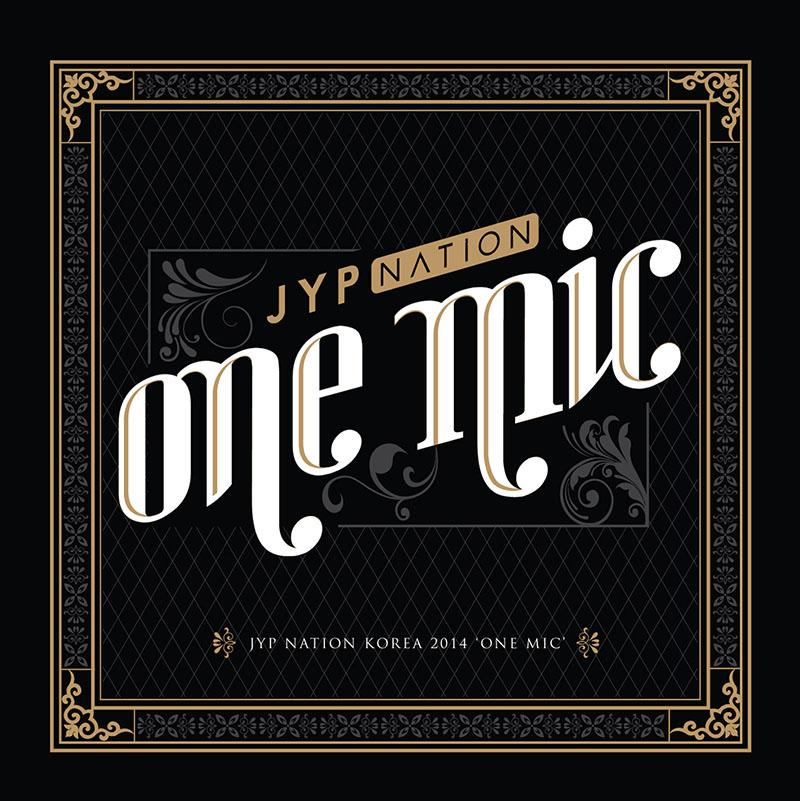 JYP NATION ONE MIC