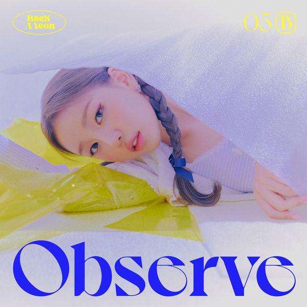 Baek A Yeon Observe album cover