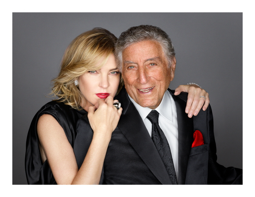 Diana Krall & Tony Bennett [Love is Here to Stay]